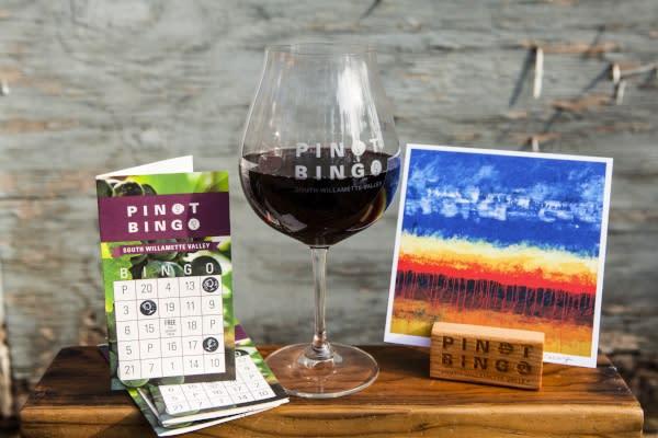 Pinot Bingo Prizes