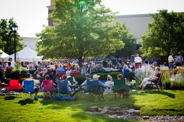 Friday Nites Live - Crowd on Grass