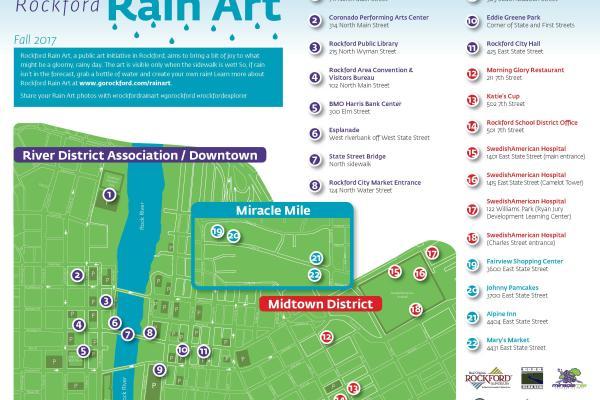 Rain Art Map