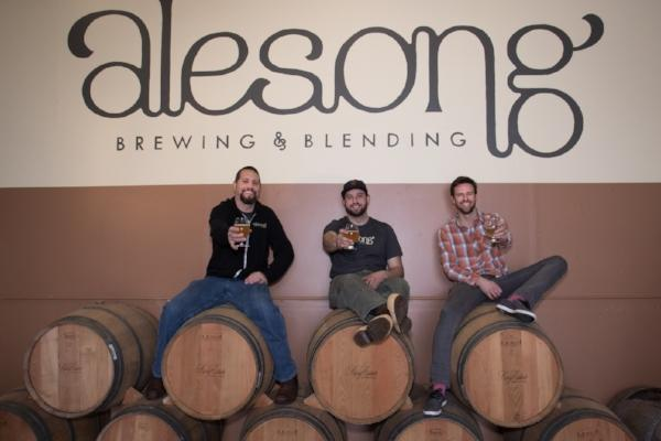 Founders of Alesong Brewing & Blending