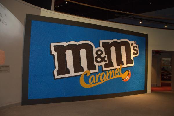 Creating M&M Caramel mural