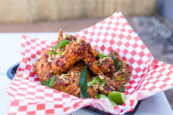 Soursop sambal wings