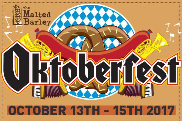Malted Barley Oktober Fest