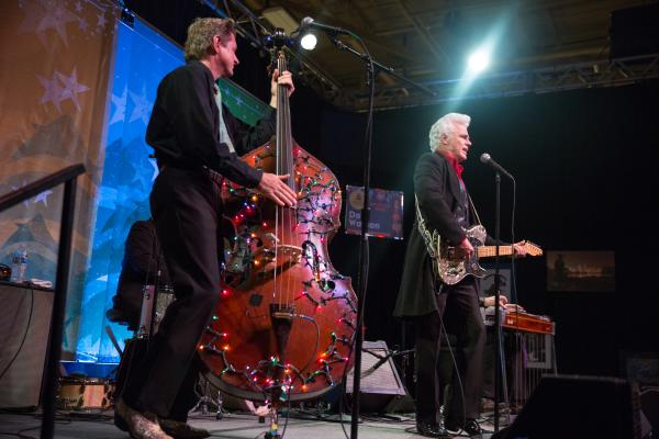 Dale Watson & band on stage at Armadillo Christmas Bazaar