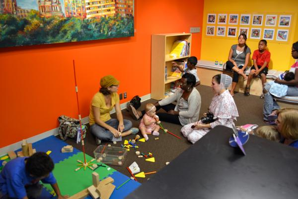 Playtime at the FWMoA