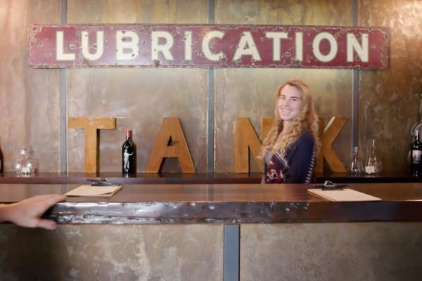 Tank Garage in Calistoga