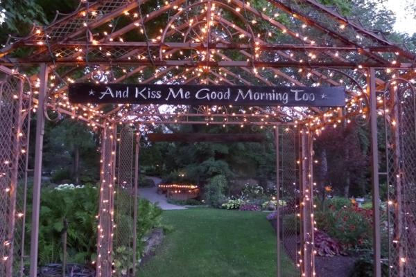 Copy of Avon Gardens wedding sign