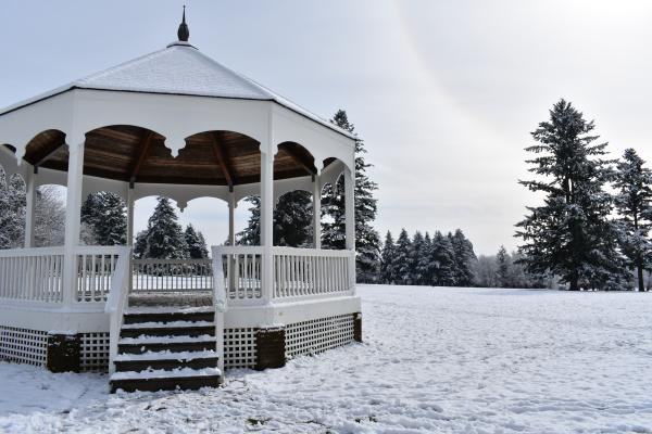 Fort Vancouver snow
