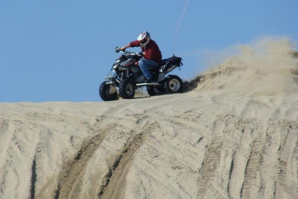 Oregon Coast Dunes Rider by Sheryll Loftin