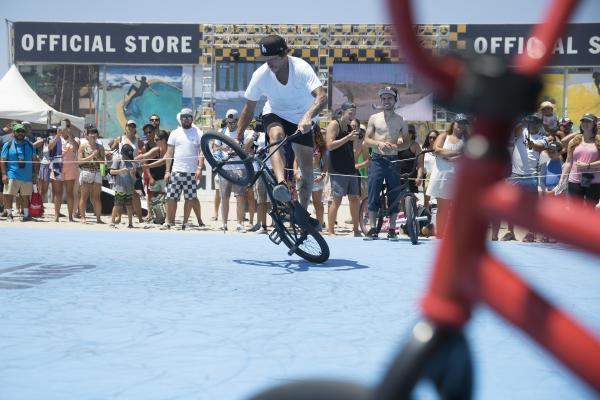 Bo Wade Huntington Beach Vans BMX event