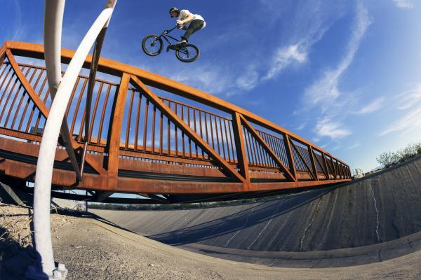 Kevin Peraza Vans BMX Huntington Beach