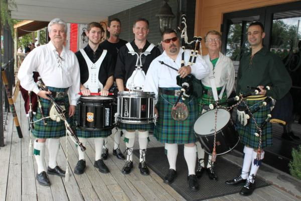 Lone Star Bagpipe Band | St. Patrick's Day in Lake Charles