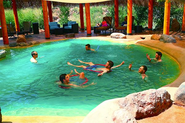 Relax at giggling springs Jemez Springs