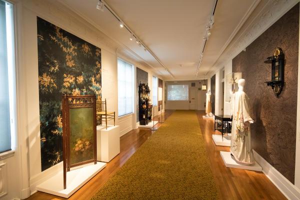 Long Gallery Oscar Wilde Exhibit