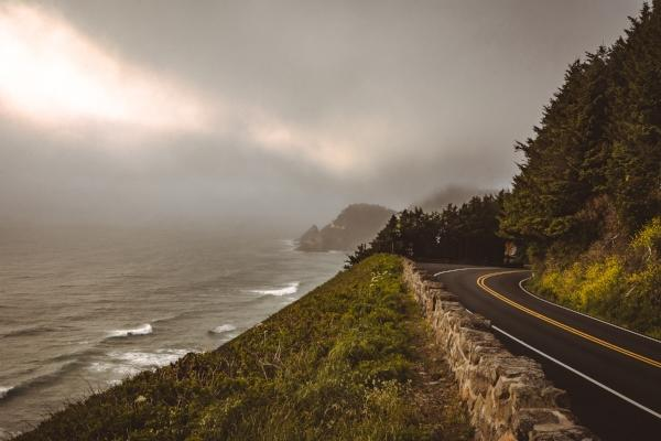 Hwy 101 along the Oregon Coast by Taylor Higgins