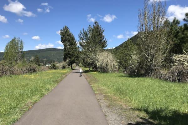 Row River Trail by Taj Morgan