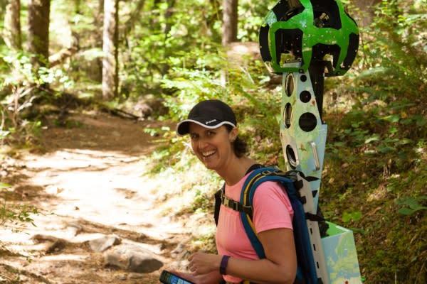 Google Trekking Brice Creek Trail