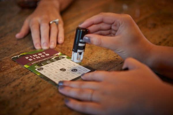 Stamping Pinot Bingo