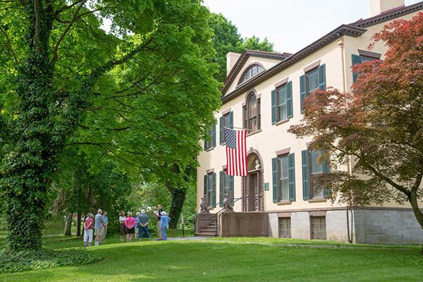 Garden Tour at the Seward House Museum