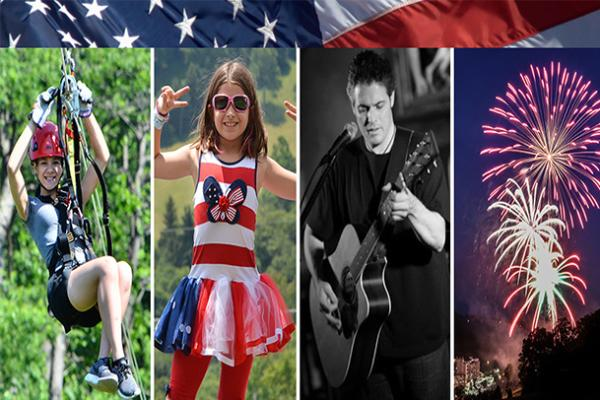 Independence Day Celebration Seven Springs Mountain Resort