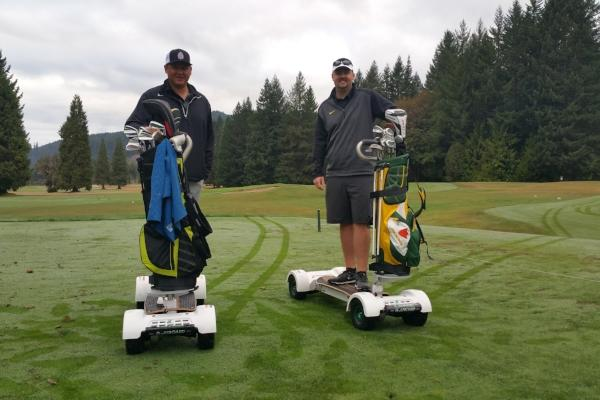 GolfBoards courtesy of Tokatee Golf Club
