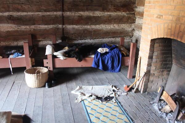 Inside the Fort's Living Quarters