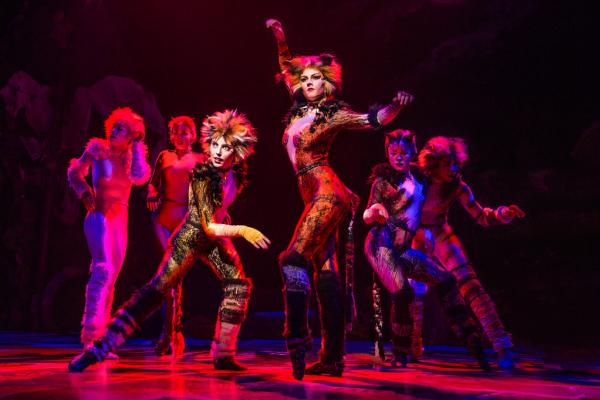 "Performers in ""Cats"" Musical"