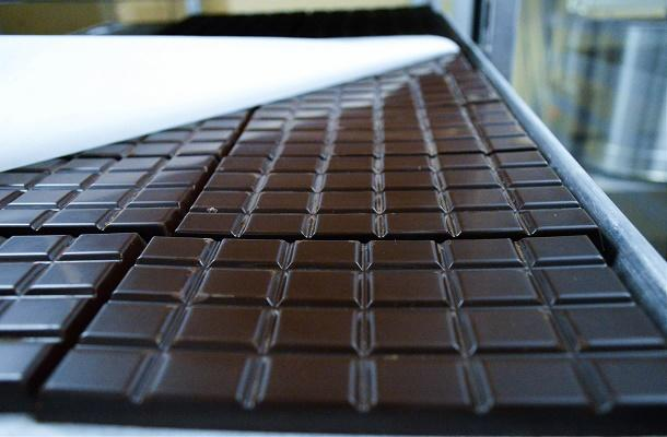 Fresh chocolate at Habitual