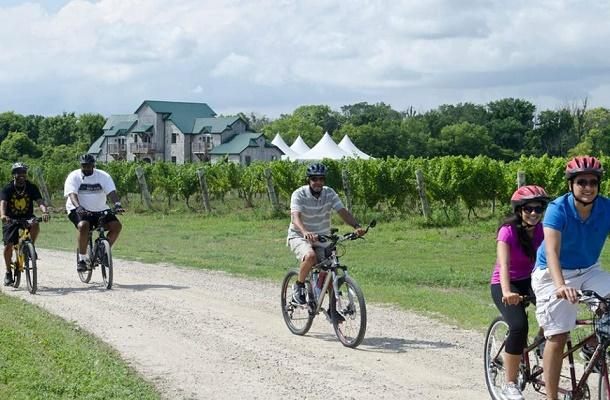 Wine Trail Ride cycling tour