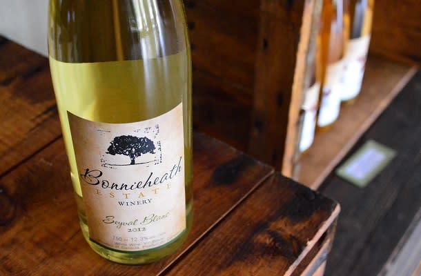 Sauvignon Blanc at Bonnieheath