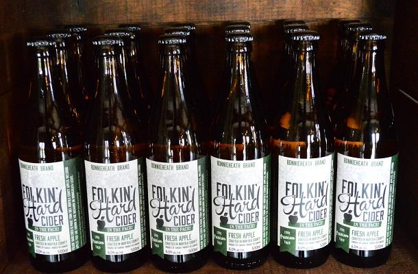 Folkin Hard Cider at Bonnieheath