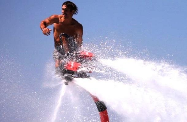 Flyboarding in Grand Bend