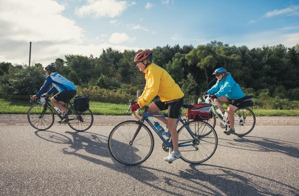 Cycling: Lake Erie River Run