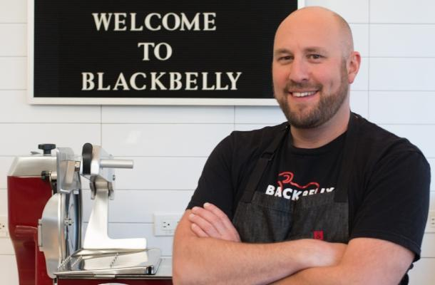 Chef Hosea at Blackbelly Boulder