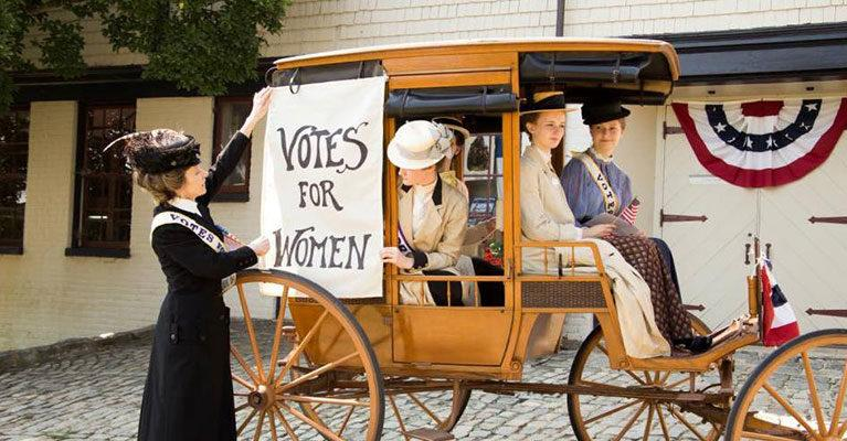 Maymont Women's Suffrage Event