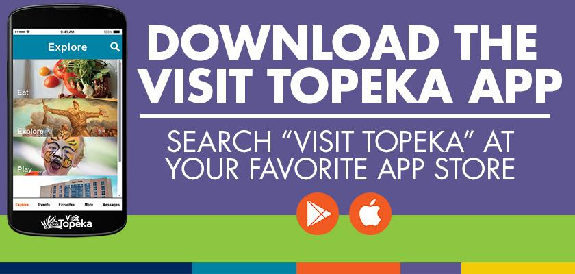 Download Visit Topeka App