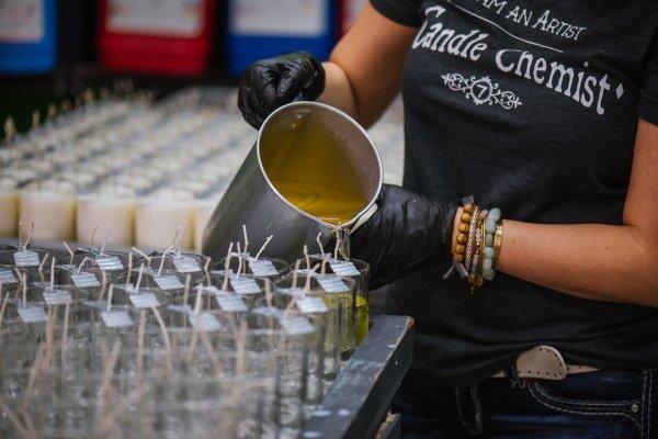 Artisan Candle Making!