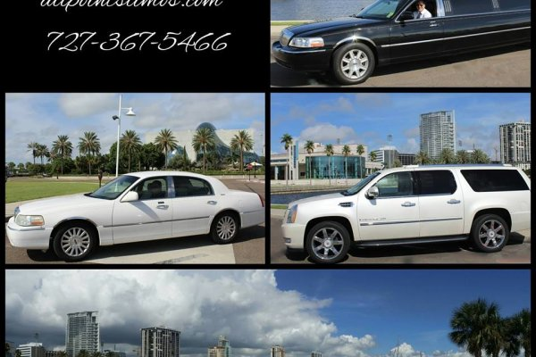 Limousine Service Tampa and Saint Petersburg
