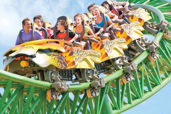 Busch Gardens Tampa Cheetah Hunt Coaster