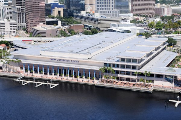 Tampa Convention Center Aerial