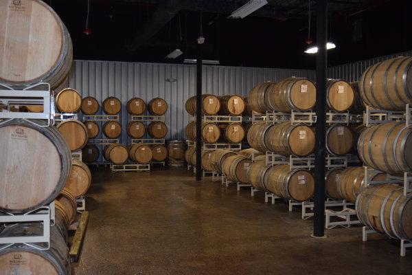 Barrel Aging Room