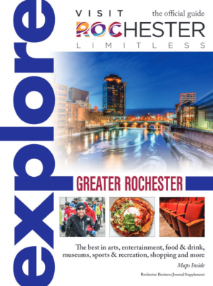 2017 Visit Rochester Explore Guide Cover