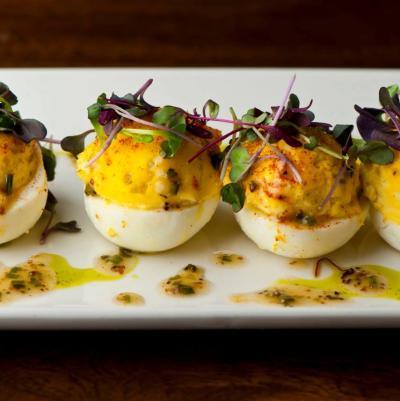 Del Frisco's Deviled Eggs