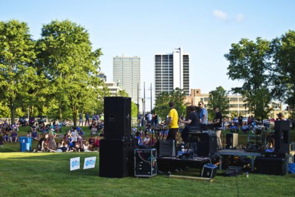 Living Fort Wayne Concert Series 2015 - June