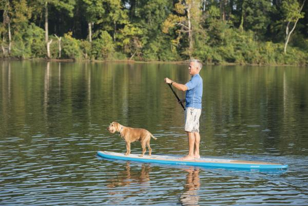 Paddle Boarding With Your Dog At Augusta Canal pet friendly hotels in augusta ga