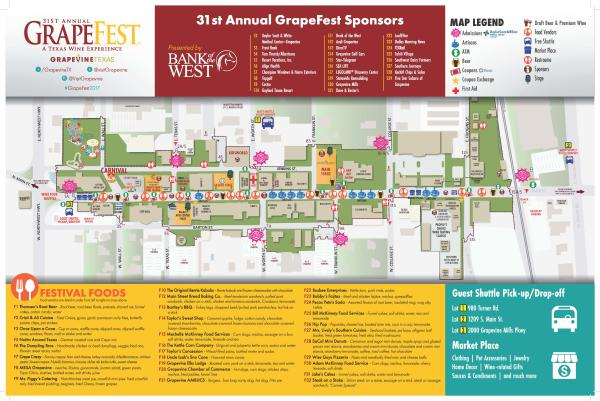 GrapeFest 2017 Map