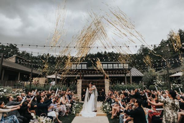 Brasswood Estate Napa Valley Wedding