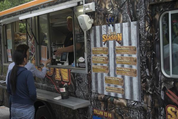 PVDfest Food Village food truck