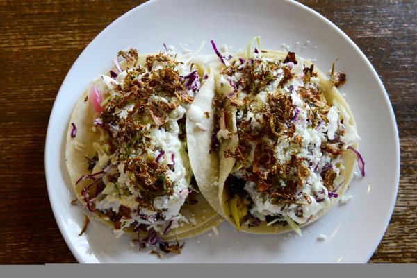 Dish Society Vegetarian Tacos