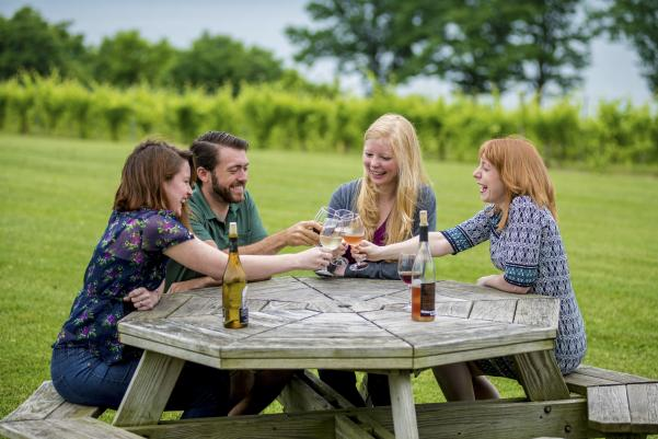 Cheers on Cayuga Lake Wine Trail